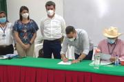 Oficializan 'Acuerdo de Matrícula Cero' para  estudiantes de la UniAmazonia