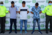 Capturan a tres de los más buscados en Caquetá por hurto calificado y agravado