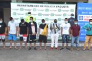 Desarticulan banda integrada por 11 personas que tenían 60 anotaciones judiciales en Caquetá