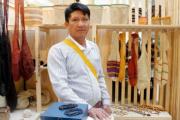 Artesano koreguaje de Caquetá participa en evento de artesanías en EE.UU.
