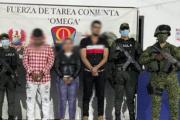 Capturan tres personas que cobrarían extorsiones para las disidencias en Caquetá